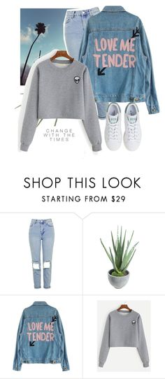 """23.03.17~"" by sweet-fashionista ❤ liked on Polyvore featuring rag & bone, Topshop, Alöe, adidas, pretty, stylish and Marxh2017"