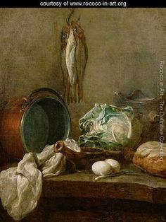 Still Life, c.1731-33 - Jean-Baptiste-Simeon Chardin - www.rococo-in-art.org