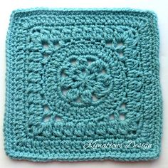 """Ravelry: Elsa 8"""" Square pattern by Kimberly Saunders"""
