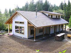 Cool Passive Solar Home
