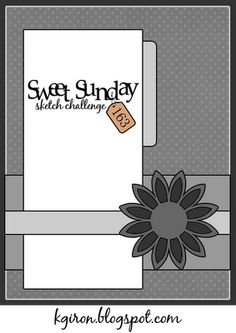 the sweetest thing...: Sweet Sunday Sketch Challenge 163 SSSC163