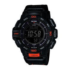 f255fc7b458 Casio Men s PRG-270B-1CR PRO Trek Aviator Black Watch (Black) Painel