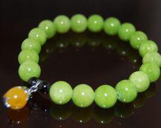 Turquesa granos verde Jade piedras preciosas por SkywaterStudio