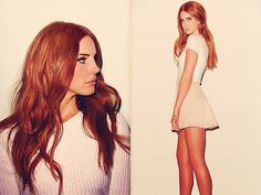 lana del rey red hair - Google Search