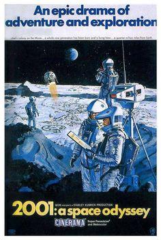 """2001: A Space Odyssey 11x17 Movie Poster (1968) GRACIAS POR PUBLICARLO. CON PERMISO LO COMPARTO. PUBLIQUÉ EN EL 2015: """"LA EFÍMERA VIDA EN EL PLANETA MARTE"""" CON EL SUB TÍTULO: ¡UN FINAL INESPERADO PARA LOS ASTRONAUTAS DE """"MARS CERO""""..!¡CORDIAL SALUDO DESDE VALENCIA, VENEZUELA..!"""