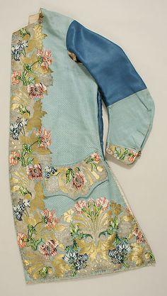 Waistcoat (image 1)   Textile: Anna Maria Garthwaite   British; Spitalfields   1747   silk, wool, metallic   Metropolitan Museum of Art   Accession Number: C.I.66.14.2