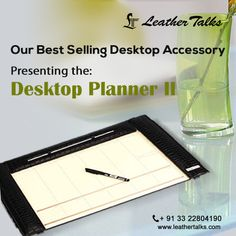 Never let your plans go astray. Keep your pages and your thoughts organized, with the help of this desktop planner from Leather Talks. This sleek and stylish desktop planner is worth buying. #metalframedplanner http://leathertalks.com/product/desktop-planner-ii/