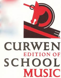 Curwen press - edition of school music leaflet by Edward McKnight Kauffer, c1931