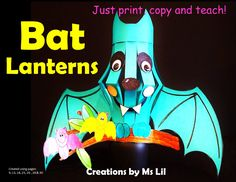 Bat in the Classroom… Whether hanging from the ceiling or sitting on the shelf, your students will love creating these cuties.  This is a great Halloween craft.  This Bat Art Project makes an excellent addition to your Bat Décor.  Bat Craft  ::   Halloween Craft  ::  Bat  Activity  ::   Stella Luna  ::  Bat craft template  ::  Bat art  ::  Bat art project  ::  Bat lantern  ::  Bat classroom decoration  ::  Bat decor  ::  Bat research project  ::   Bat models  ::  Paper Lantern