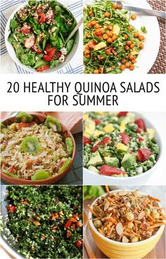20 HEALTHY Quinoa Salad Recipes for Summer