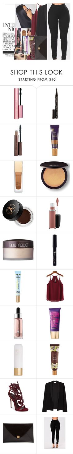"""""""""""A girl should be two things: classy and fabulous."""" - COCO CHANEL"""" by w-on-der-lan-d ❤ liked on Polyvore featuring Too Faced Cosmetics, Smith & Cult, Laura Mercier, tarte, Clarins, Anastasia Beverly Hills, MAC Cosmetics, GET LOST, Cover FX and Eve Lom"""