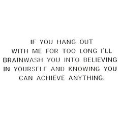 I mean, hopefully it's not brainwashing and more like positively affirming what you already know deep down to be true. 🤜🏼❤🤛🏼  _  We all need this friend.   We all need to BE this friend.   #vibratehigher #evolve  _  I'm here if you need a little extra support, an energy boost or just a positive reminder. #forreal (link in bio if you're curious)   #positivevibes via @thedailyhealing