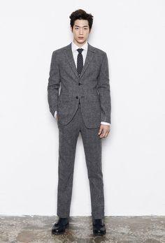 Para TI / W 2014 Feat campaña publicitaria Hombres F. Seo Kang Joon | Couch Kimchi