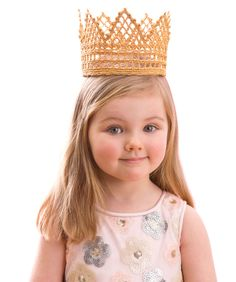 Childs Royal Crown - free pattern for the princess in your life.