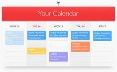 Sync your calendar with Wunderlist
