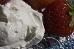 Whipped cream and strawberries Whipped Cream, Ice Cream, Big Puppies, Strawberries, Chocolate, Fruit, Dark, Sweet, Desserts