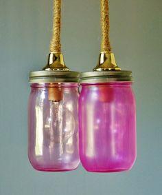 Rose Mason Lamp Set - Handmade Moroccan Nights Collection - Dot & Bo