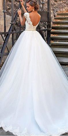 Various Ball Gown Wedding Dresses For Amazing Look ❤ See more: http://www.weddingforward.com/ball-gown-wedding-dresses/ #weddings