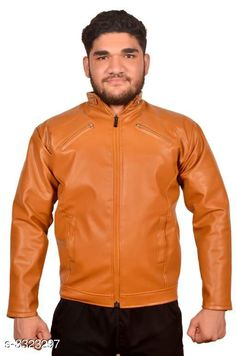 Jackets Trendy Men's PU Leather Jacket Fabric: PU Leather Sleeves: Full Sleeves Are Included Size:  M  L XLXXL  (Refer Size Chart) Length: Refer Size Chart Type: Stitched Description: It Has 1 Piece of Men's Jacket Pattern: Solid Country of Origin: India Sizes Available: XXS, XS, S, M, L, XL, XXL *Proof of Safe Delivery! Click to know on Safety Standards of Delivery Partners- https://ltl.sh/y_nZrAV3  Catalog Rating: ★3.9 (3194)  Catalog Name: Elegant Men's PU Leather Jackets Vol 4 CatalogID_459837 C70-SC1209 Code: 435-3323297-