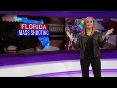 'Pray? We pray after every mass shooting and yet they keep happening' Samantha Bee—full force.....your god just isn't listening