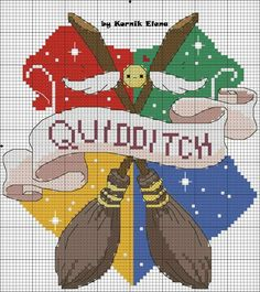 Discover recipes, home ideas, style inspiration and other ideas to try. Cross Stitch Pillow, Cross Stitch Charts, Cross Stitch Designs, Cross Stitch Patterns, Harry Potter Perler Beads, Harry Potter Crochet, Beaded Cross Stitch, Cross Stitch Embroidery, Harry Potter Cross Stitch Pattern