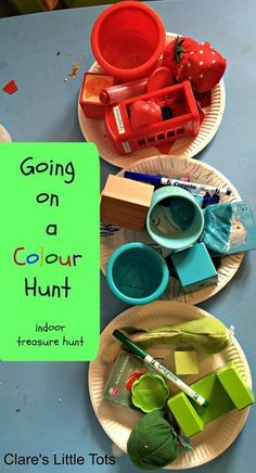 on a Colour Hunt Going on a Colour Hunt fun activity and craft for toddlers and preschoolers to reinforce colour recognition.Going on a Colour Hunt fun activity and craft for toddlers and preschoolers to reinforce colour recognition. Eyfs Activities, Rainy Day Activities, Color Activities, Educational Activities, Learning Activities, Preschool Activities, Activites For Preschoolers, Preschool Ideas, Toddler Play
