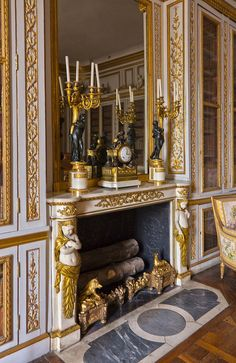 #Cocoscollections Fireplace - Château de Versailles                                                                                                                                                                                 More