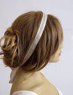 wedding Hairband Accessories Wedding Headband bridal by selenayy