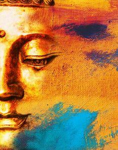Buddha Canvas Painting Frameless meditation wall art cuadros decor – For Meditation Buddha Face, Buddha Zen, Gautama Buddha, Buddha Artwork, Buddha Painting, Pintura Zen, Buddha Kunst, Buddha Canvas, Zen Art