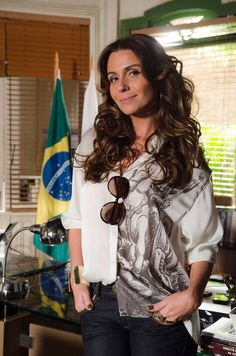 "Helô (Giovanna Antonelli) em ""Salve Jorge"""