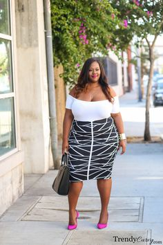 Transitional Style | Summer to Fall Look | TrendyCurvy