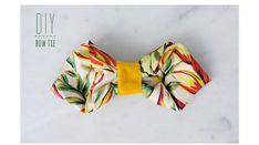 可愛い蝶ネクタイの作り方   DIY手作り結婚式