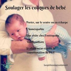 coliques de bébé