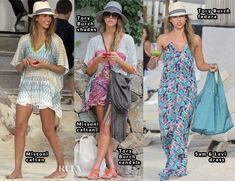 Jessica Alba St Barts style 1