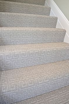 Merveilleux Check Out These Great (budget) Carpet Ideas For Your Home. This Patterned  And Textured Greek Key Pattern Is Perfect For Stairs.