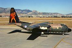 "752 ""Hercules"" C-130H. 112 Combat Wing / 356 TTS. Elefsis AB. Sept. 2007."