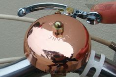 Crane Suzu Bell (Copper) accessory for Brompton