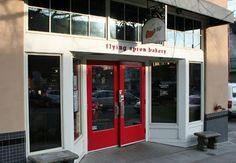 The Flying Apron Bakery in Seattle, WA......a GLUTEN FREE bakery!!!!!!!!!!  Talk about being in HOG HEAVEN!!!!!!! hehehe