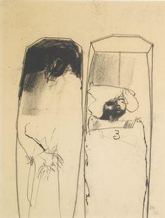 David Hockney, Study for C.B.