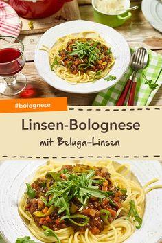 Lentil Bolognese, Parmesan, Aioli, Vegan Recipes, Vegan Food, Healthy Food, Japchae, Lentils, Nom Nom