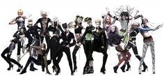 Where Cosplay meets Fashion : Jojo's Bizarre Adventure Cosplay Collaborates with Shiseido Jojo Bizarro, Jojo Fashion, Photoshop, Creative Hairstyles, Jojo Bizzare Adventure, Tumblr, Tadashi, Hair And Makeup Artist, Shiseido