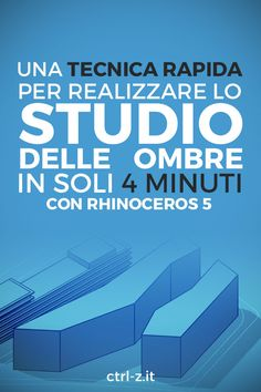 Studio delle ombre con Rhinoceros in soli 4 minuti - Architecture Architecture Program, Studios Architecture, Architecture Panel, Architecture Student, Futuristic Architecture, Sketch Photoshop, Photoshop Tutorial, Black Art Painting, Body Painting