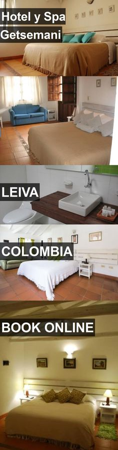 Hotel y Spa Getsemani in Leiva, Colombia. For more information, photos, reviews and best prices please follow the link. #Colombia #Leiva #travel #vacation #hotel