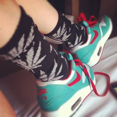Huf socks and Airmax #Dope #Swag