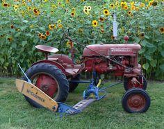 Putting up hay with Farmall Cub and mower Big Tractors, Case Tractors, Farmall Tractors, Red Tractor, John Deere Tractors, Antique Tractors, Vintage Tractors, Old Farm Equipment, Heavy Equipment