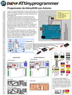 Programando el ATtiny45 / ATtiny85 con Arduino                      (Esta página es traducción de http://hlt.medi...