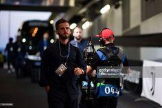 Miralem Pjanic of Juventus arrives at Allianz Stadium before the UEFA Champions League group D match between Juventus and Olympiakos Piraeus at Allianz Stadium on September 27, 2017 in Turin, Italy.
