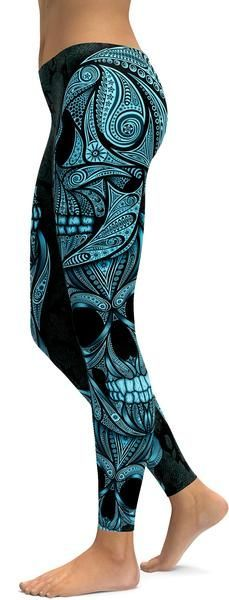 http://www.gearbunch.com?rfsn=633090.8644e&utm_source=refersion&utm_medium=influencers&utm_campaign=633090.8644e  Blue Ornamental Skull Leggings