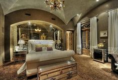 Traditional Master Bedroom with Restoration Hardware Mayfair Steamer Trunk Low Chest