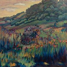"Saatchi Art Artist Nina Weiss; Painting, ""Big Independence Prairie"" #art"